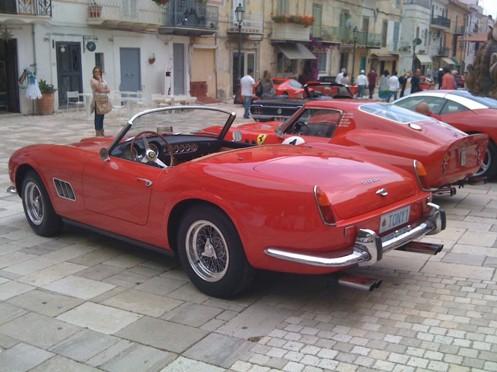 The most beautiful - the Ferrari 250 California