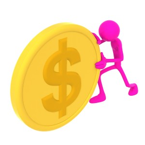 bigstock-Man-With-A-Gold-Coin-1831424